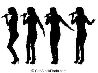 femmes, chanteur