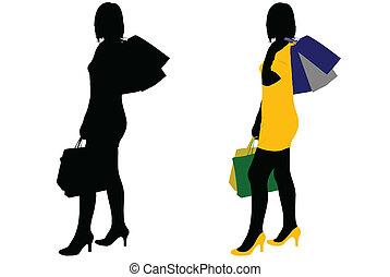 femmes commerciales