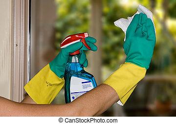 fenetres, nettoyage