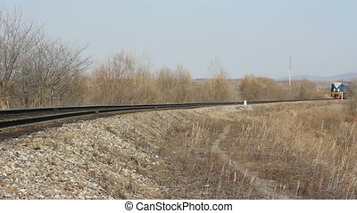 ferroviaire, train passager