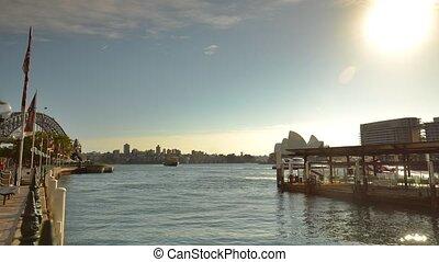 ferry-boat, sydney, banlieusard