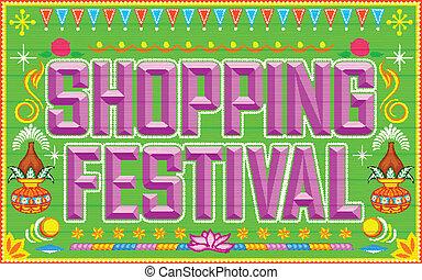 festival, achats