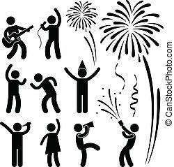 festival, fête, événement, célébration