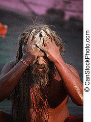 festival, pendant, mela, sadhu, kumbh