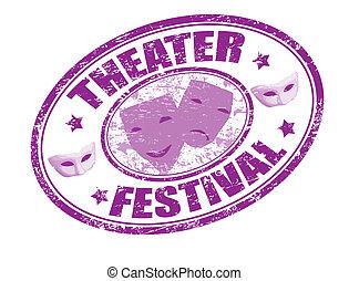 festival, timbre, théâtre