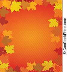 feuilles automne, pensionnaire, thanksgiving
