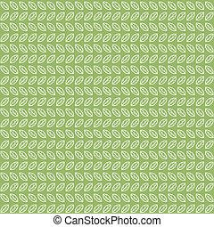 feuilles thé, vert, modèle