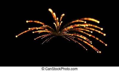 feux artifice, boucle, seamless, def