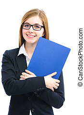 fichiers, entrevue, métier, tenue femme