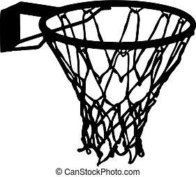 filet, basket-ball