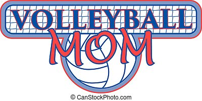 filet, conception, volley-ball, maman