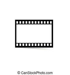 film, bande, pellicule, illustration