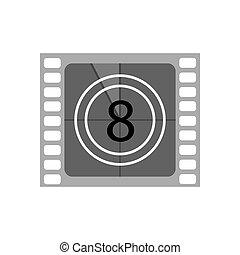 film film, illustration