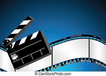 film, fond