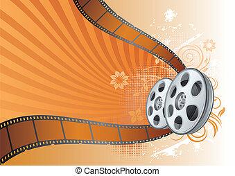 film, illustration, thème