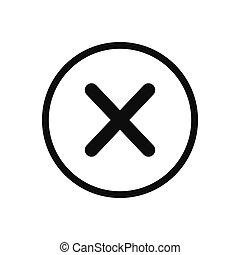 fin, bouton, conception, vecteur, toile, mobile, icône, style, app, site, moderne