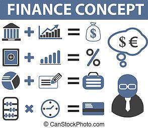 finance, signes