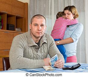 financier, famille, problèmes