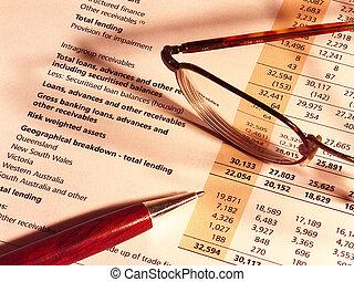 financier, résultats
