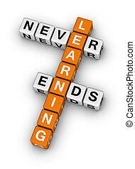 fins, jamais, apprentissage