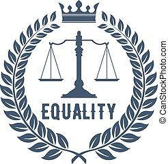firme, justice, symbole, droit & loi, balances