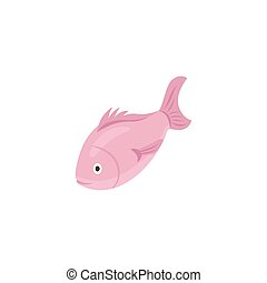 fish, illustration, 3d