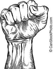 fist., serré