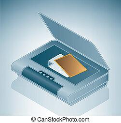 flatable, scanner, photo