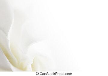 fleur blanche, doux, fond