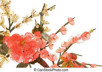 fleur, cerise, jade, 3