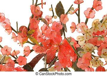 fleur, cerise, jade, 4