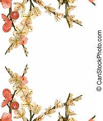 fleur, cerise, jade, 6