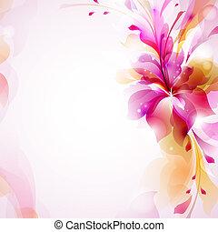 fleur, résumé