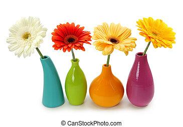 fleurs, vases