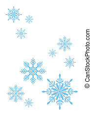 flocons neige, 4