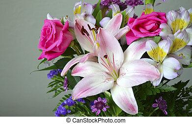 floral, bouquet.