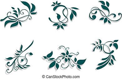 floral, décorations