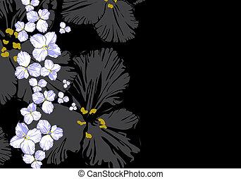 floral, illustration