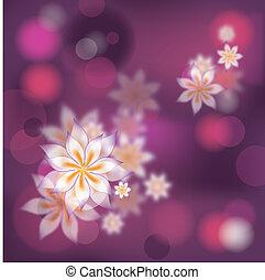 floral, vecteur, résumé, fond, eps10