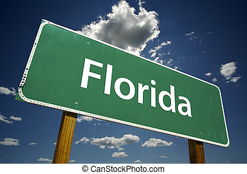 floride, panneaux signalisations