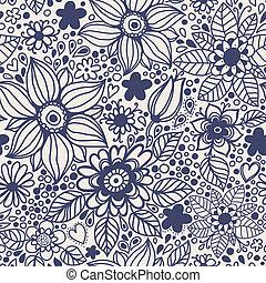 flowers., seamless, texture