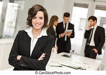 fonctionnement, business, appareil photo, éditorial, environnement, regarder