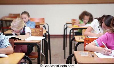 fonctionnement, classe, élèves