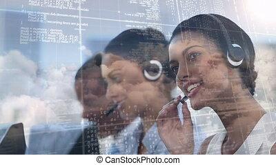 fonctionnement, employés, appeler, code, centre