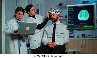 fonctionnement, traitement, ensemble, chercheurs, développer, équipe, neurologique