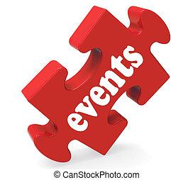 fonctions, moyens, occasions, puzzle, evénements, ou, concerts