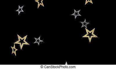 fond, étoiles