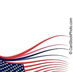 fond, américain, drapeau etats-unis