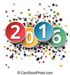 fond, année, nouveau, 2016, ctemplate, heureux