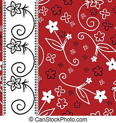 fond blanc, raie, vertical, rouges